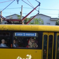 Трамвайно-яблочный  натюрморт :: Алекс Аро Аро