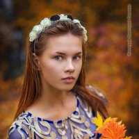 Осень. Катя :: Дмитрий Головин
