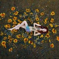 "Проект ""Girl in flowers"". :: Станислав Башарин"