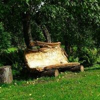 Диван из дубовой коры :: Милешкин Владимир Алексеевич