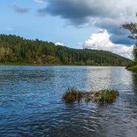 Река Уса, Кемеровская область, горная Шория :: Владимир Деньгуб