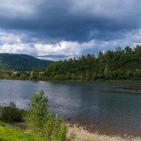 Река Уса, Кемеровская область, район санатория :: Владимир Деньгуб