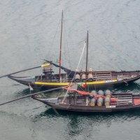 Лодки для перевозки портвейна на реке Дору :: Dimirtyi