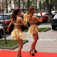 Уличное шоу. :: Сергей Рубан