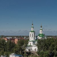 Тюмень, Вознесенско-Георгиевская церковь :: Vladimir Dunye