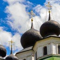 Купола Воскресенского войскового собора в Старочеркасске. :: Oleg
