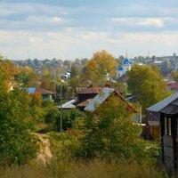 Сентябрь в нашем городке. :: Александр Зуев