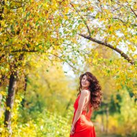 Мадам Осень :: Андрей