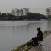 Для настоящего рыбака дождь - не помеха :: Андрей Лукьянов