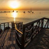 Sunset on the sea :: Dmitry Ozersky