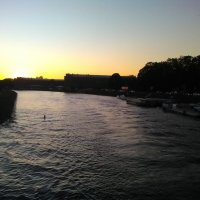 Закат над Невой. (Петербург, сенябрь). :: Светлана Калмыкова