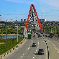 Бугринский мост Новосибирск :: Юрий Лобачев