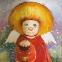 Ангел, освещающий жизненный путь... :: Tatiana Markova