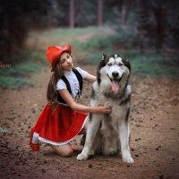 красная шапочка :: Мила Гусева