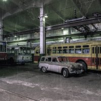 В музее городского транспорта в СПБ :: Tatiana Poliakova