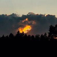 Огненный закат :: Anna Sigida