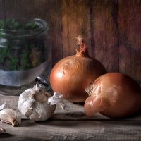 Про чеснок и лук :: mrigor59 Седловский