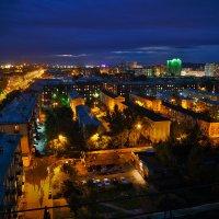 Ночной Новокузнецк :: Юрий Лобачев