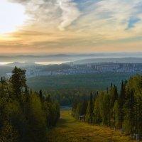 Утро туманное :: vladimir Bormotov