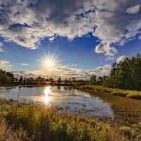 Вечер на озере Киреты :: Владимир Родионов