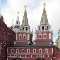 Воскресенские (Иверские) ворота :: Дмитрий Никитин