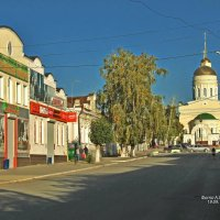 Утро в городе Вольске. :: Анатолий