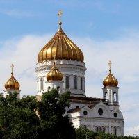 купол храма Христа Спасителя :: Светлана Кажинская