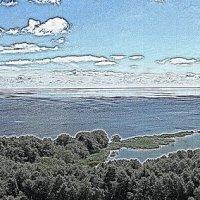 Озеро Лебедь :: Ольга Чистякова
