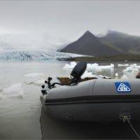 К леднику на резиновой лодке :: Shapiro Svetlana