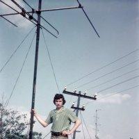 На крыше дома своего.... 1973 год. (июль) :: Игорь Смолин