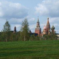 Вид с парка на Красную площадь. :: Владимир Драгунский