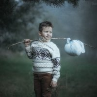 Тёма в тумане :: Таня Тришина