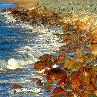 А пляж-то где? :: Сергей Карачин