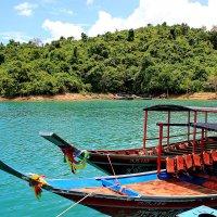 Тайские длиннохвостые деревянные лодки :: Александр