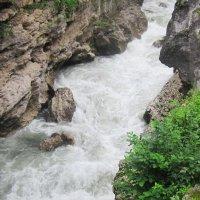 Адыгея. Река Белая. Хаджохская теснина :: татьяна