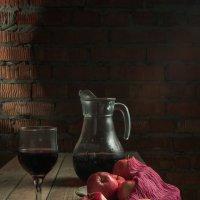 Вино и яблоки :: Алексей Кошелев
