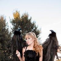 Черный ангел :: Олеся Романова