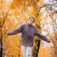 Настина Золотая Осень :: Евгений Банных