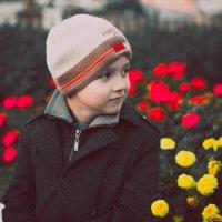 Мальчик в цветах :: Марина Кириллова