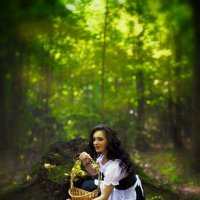 Фотосессия: Сказка старого леса. :: Кирилл Гимельфарб