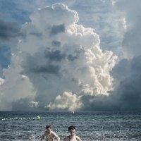 На небе только и разговоров, что о море.... :: Александр Мирошниченко