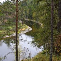Пейзаж с видом на реку. :: Наталья