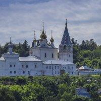 Монастырь на горе :: Сергей Цветков