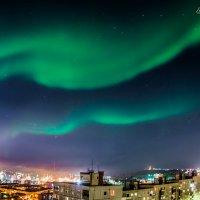 Северное сияние над мурманском 25 сентября :: 30e30 (Игорь) Васильков