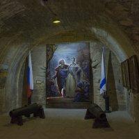 В музее Михайловской батареи :: Игорь Кузьмин