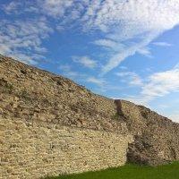 Изборская крепость. XIV век :: Марина Домосилецкая