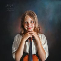 Девочка со скрипкой :: Анна Бугаева
