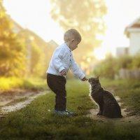 Тимофей и кошка :: Олька Никулочкина