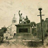 Монумент Минину и Пожарскому :: Андрей Головкин