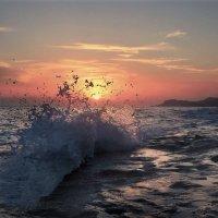 Закат на море.. :: Клара
